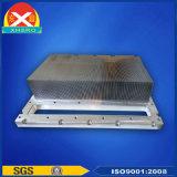 O dissipador de calor de trituração dos dentes do dissipador de calor de alumínio para a eletrônica pode anodizar
