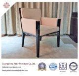 Mobilia di legno dell'hotel con la poltrona del tessuto di legno solido (YB-O-22)