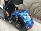 E-Scooter électrique bon marché avant/arrière de ville d'adultes de bicyclette/vélo de Suspenion Citycoco Harley