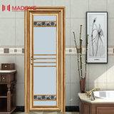 Подгонянная высокосортная дверь туалета с декоративной решеткой