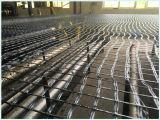 100kn/Mx100kn/M glasvezel Geogrids die met het Bitumen van het Asfalt met een laag wordt bedekt