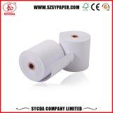 La mejor calidad imprimió el rodillo del papel termal para la caja registradora