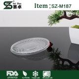 Contenitore di alimento di plastica a gettare di grande capienza con il coperchio (1000ml)