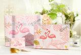 カスタムフラミンゴによって印刷されるペーパーパッキングギフト用の箱およびギフト袋