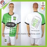 Fútbol rayado 100% de la sublimación 2017 del fútbol del poliester uniforme de encargo barato del diseño Jersey para Team Uniformes De Futbol Soccer