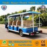 Marca 14 Seater di Zhongyi fuori dall'automobile elettrica aperta della spola della strada con l'alta qualità