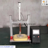 La mousse et de l'essai de pression de compression en caoutchouc avec le calculateur de contrôle de la machine