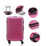 El viajar colorido 3 pedazos del conjunto del equipaje, caja de la carretilla (XHA030)