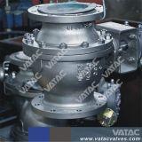 3PC Boîte de vitesses complet des ports à bride en acier inoxydable clapet à bille fixe (Q341f)