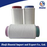 100%Nylon 6染められたヤーンの編むことのための高い粘着性ヤーン100d/48f