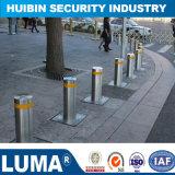 Электрическая система обеспечения безопасности гидравлический автоматический рост трафика Bollard складной улицы