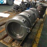 Углеродистая сталь Wcb выступ из нержавеющей стали типа двойной диск с двумя пластину полупроводниковая пластина клапана Pn10 Pn16