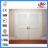 Kiefer-Ziehharmonika-Küche-Innenzoll-Bifold Wandschrank-Tür-Falz-Türen