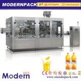 3 em 1 linha de produção da bebida do suco de fruta/maquinaria de enchimento de enchimento