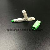 Fibre optique Connecteur pour cordon de raccordement rapide appliquée dans le réseau et accès sans fil