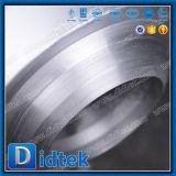 Válvula de verificación de oscilación de la soldadura a tope del sello de presión del acero de aleación de Didtek