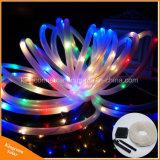 クリスマス・パーティの休日の結婚式の装飾100LED太陽ロープストリングライト