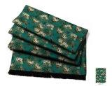 خضراء تصميم حرير وشاح