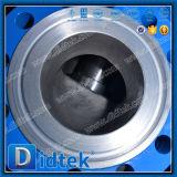 DIN Didtek qualité fiable en dessous de la soupape de Globe avec pignon