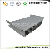 Het Poeder die van uitstekende kwaliteit Uitgedreven Aluminium Heatsink bespuiten