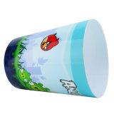 Panier de rebut en plastique de ménage à la maison pour la salle de bains/cuisine