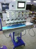 La almohadilla de tampografia independiente de cuatro colores de la máquina de impresión