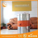 Промышленное одеяло силикона топления, подогреватель барабанчика силикона