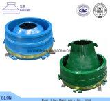 Nordberg Metso G3511 Steinzerkleinerungsmaschine-Filterglocke-Zwischenlage, konkav und Umhang