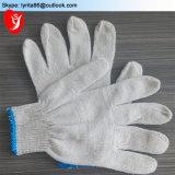 Оптовая торговля белый хлопок рабочие перчатки трикотажные защитные руки перчатками