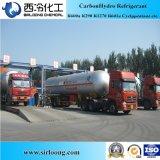 Хладоагент наполняет газом газ R290 газа пропана высокой очищенности сь в пакете бака ISO