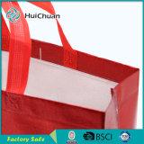 Laminazione del sacchetto di acquisto non tessuto del Tote con stampa Shinning
