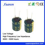 35V 8*12mm de Elektrolytische Lage Impedantie van de Condensator 100UF
