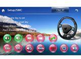 Автомобиль GPS с соединением RDS зеркала RDS iPod Bt 3G