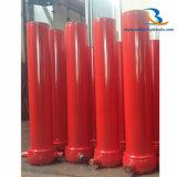 Kundenspezifischer Kipper-teleskopischer Hydrozylinder für Verkauf