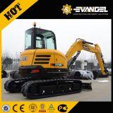 Sany Sy55 Equipo de construcción de la excavadora sobre orugas hidráulica