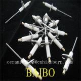 La alta temperatura cerámica alúmina de agujas de contacto
