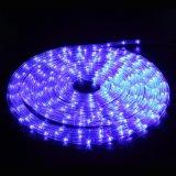10m 8개의 최빈값 관제사를 가진 옥외 LED 밧줄 빛 LED 지구 빛