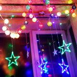 훈장을%s LED 별 빛 커튼 빛