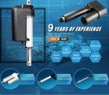 L'azionatore lineare elettrico IP65 impermeabilizza 24VDC