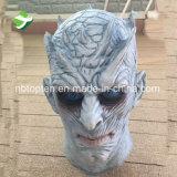 Truco de Pirce de la fábrica o juego del convite de la máscara principal Full de las Trono-Noches de rey White Walker Men's/de la máscara de Hallowmas