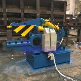 De hydraulische Scherpe Machine van de Pijp van het Staal van het Schroot (fabriek)