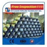 Codo de tubo de acero al carbono sin fisuras de 90 grados
