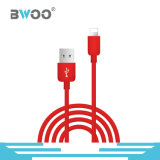 Micro Tipo-c personalizado cabo do relâmpago colorido de dados do USB
