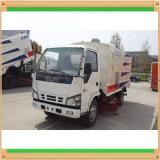 Aspirer-Type pur camions de Clw Isuzu 3cbm de balayeuse de route de vide
