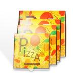 관례 주름을 잡은 오프셋 인쇄 빵집 포장 상자는 서류상 피자 상자를 나른다