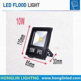 Illuminazione esterna del riflettore del proiettore LED dell'indicatore luminoso di inondazione del LED 10W
