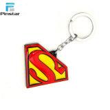 Kunshan Custom Logo Superman Soft enamel Llavero de metal