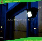 6LED indicatori luminosi solari, indicatore luminoso esterno di obbligazione del sensore di movimento