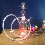 Cachimba de cristal de Shisha del al-Falker de la cachimba del tubo que fuma del OEM de la fábrica Bw1-104