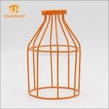 Cortina de lámpara ligera pendiente de la jaula del bulbo de la vendimia